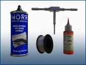 Werkzeug, Verbrauch und Schweißen