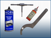 Werkzeuge, Verbrauch & Pflege