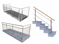 Geländer Bausätze