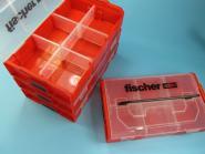 FIXtainer L-Boxx Sortiment Leerbox mit Schrauben Dübe Sortimo Edelstahl