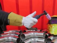 WIG Schweisser Leder Handschuh mit Stulpe Tegera Premium schweißen