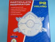 Atemschutzmaske Staubschutz P2 mit Ventil Feinstaub Maske Fitting kleben FFP2