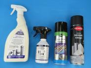 Pflege und Reinigungs- Spray für Edelstahl diverse Auswahl