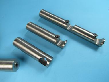Gardinenstangenhalter Edelstahl gardinenstangen halter für 16 mm stange edelstahl verschiedene halter