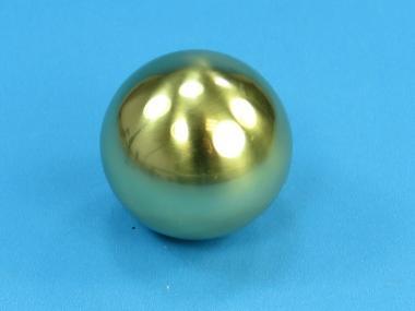 Kugel - Messing - HOHL - Ø 100 mm - Gewinde M10 - Zierkugel Messing - HOHL | Ø 100 mm