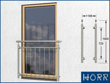 franz sicher balkon senkrecht 8 streben pa 1198 mm 8. Black Bedroom Furniture Sets. Home Design Ideas