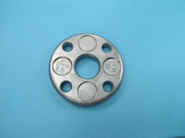DN 15 21.3 mm Losflansch Aluminium Alu blank DIN2642 ND10 typ c Flansch DN 15