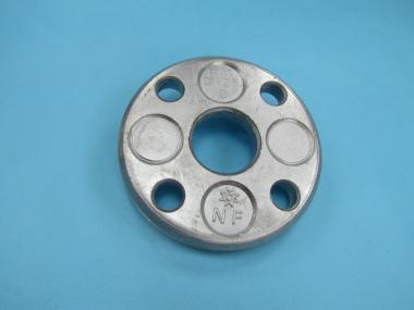 DN 50 60,3 + 54 mm Losflansch Aluminium Alu blank DIN2642 PN10 typ c Flansch DN 50