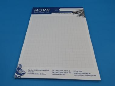 Papier Block Isometrie Din A4 50 Blatt Papier Horr Rohre Gelander