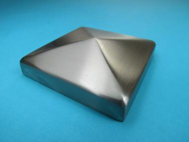 edelstahl pyramidenkappe zaun pfosten zier kappe 5x5 cm 50x50 mm 50x50 mm abdeckung vierkant. Black Bedroom Furniture Sets. Home Design Ideas