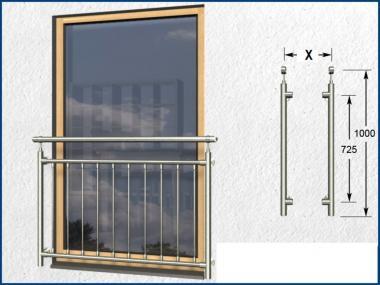 Französisch Balkon französischer balkon senkrecht