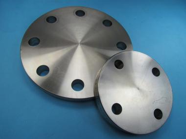 Edelstahl Flansch BLINDFLANSCH DN 10 -150 PN 10 - 40 V4A EN 1092-1 DIN 2527