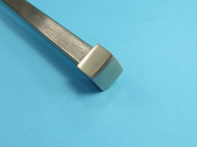 Vierkant Endkappe Zierteil für Vierkantrohr Rohr 12x12 mm Edelstahl V2A