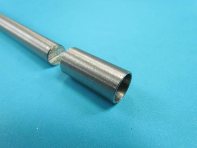 Rundstab Verbinder für 12mm STAB / Rohr zum kleben