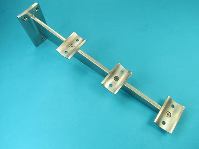Tablettrutschenträger Rohrhalter Ausleger für Rohr 33,7 mm Edelstahl
