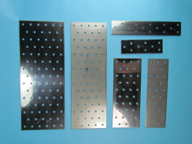 Flachverbinder Lochblech Lochplatte Holzverbinder Verbinder 5-15 Edelstahl