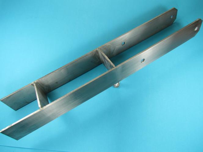H-Anker Pfostenträger V2A Edelstahl Pfosten Halter 7x7 und 9x9 Stütze