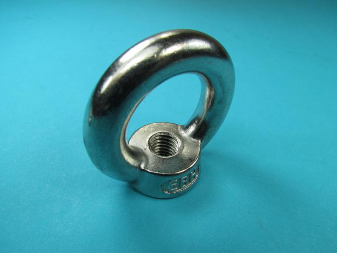 Verzinkt Kranösen Augmutter Ringmutter Ring Öse Mutter M3 bis M24 Edelstahl A2