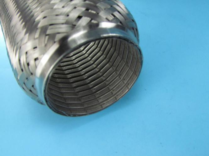 Edelstahl Flexrohr Flexstück flexibles Krümmerrohr Hosenrohr Ø 45mm x 150mm