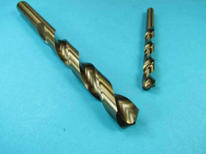 HSS CO5/% VA Bohrer Kobalt HSSE Edelstahl Spiralbohrer 0,5-16 mm Metallbohrer