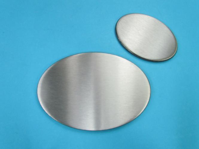 ronde deckel kappe scheibe oval ovales blech als schild gravieren. Black Bedroom Furniture Sets. Home Design Ideas