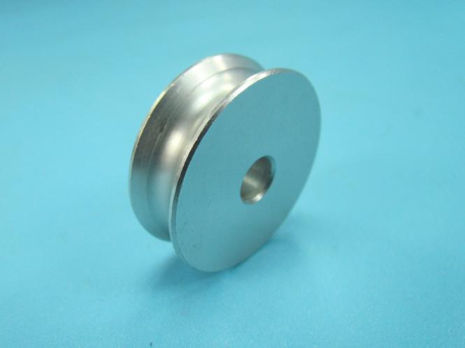 Seil Rolle Metallrolle aus Aluminium Ø 38mm für Seil bis 5mm