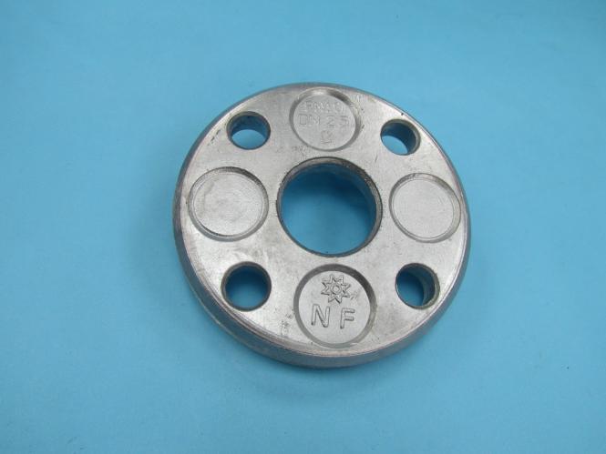 DN 40 48.3 mm Losflansch Aluminium Alu blank DIN2642 PN10 typ c Flansch DN 40