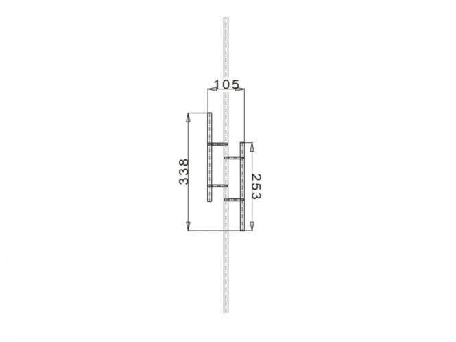 zierstab rundstab f r gel nder 12 mm edelstahl nr 01. Black Bedroom Furniture Sets. Home Design Ideas
