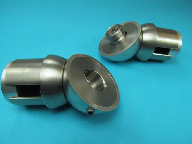 Edelstar® Rohrstützen mit Gelenk Ø42,4x2 Anschl Ø42,4
