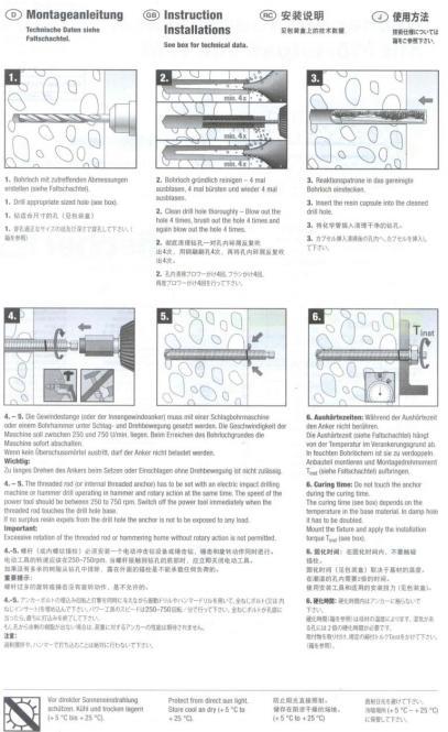 d bel ankerstange v4a gewindestange verbundankerstange f r m rtel. Black Bedroom Furniture Sets. Home Design Ideas