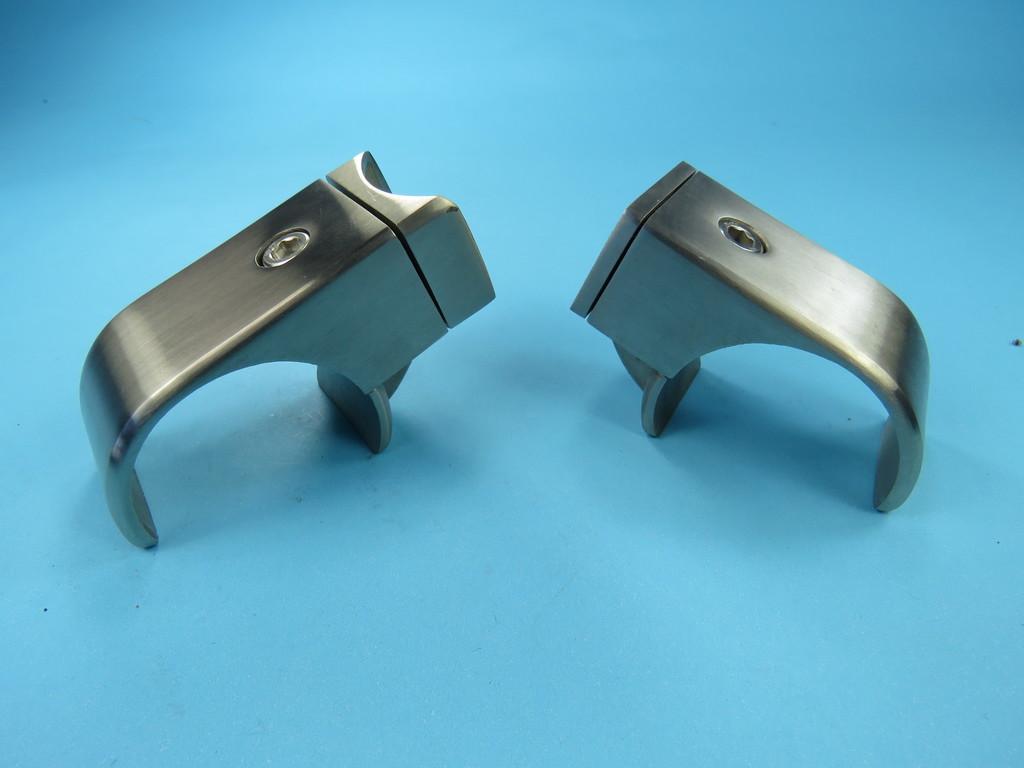 rohrschelle edelstahl zum klemmen 42 4 mm v4a halter. Black Bedroom Furniture Sets. Home Design Ideas