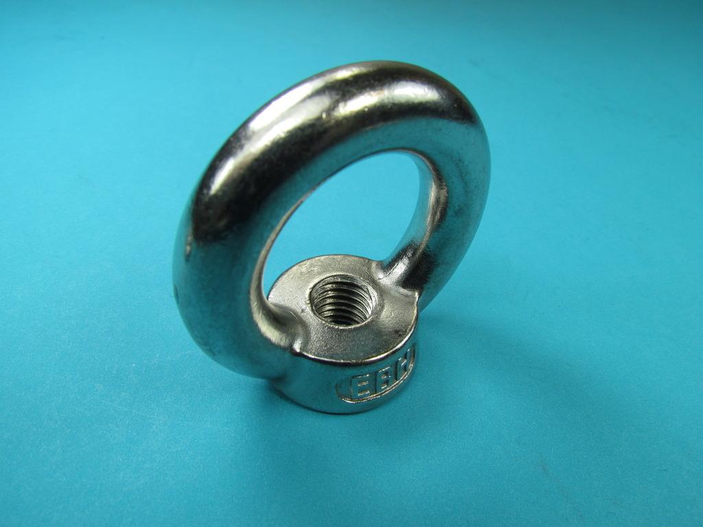 ringmutter ring se mit m12 innengewinde mutter v2a din 582 m12 1 st ck. Black Bedroom Furniture Sets. Home Design Ideas