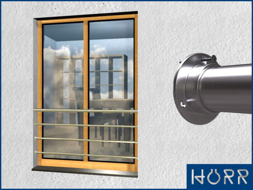 franz sicher balkon waagerecht mit 4 streben bis 200. Black Bedroom Furniture Sets. Home Design Ideas