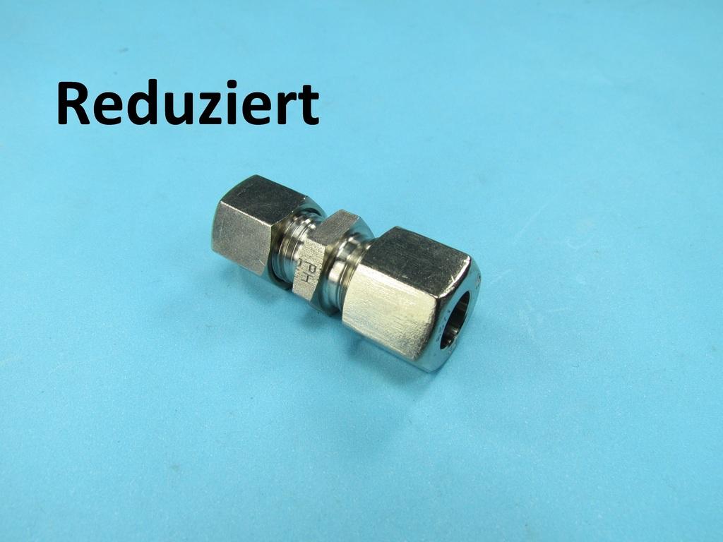 Edelstahl hydraulik schneidring reduzierung verbinder v4a 12 x 6 mm verbinder reduziert 12 x - Gartenmobel edelstahl reduziert ...