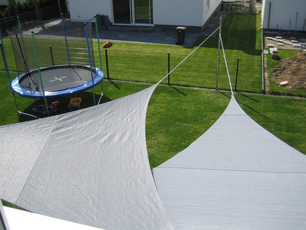 edelstahl sonnensegel stange mast beschattung halter inkl. Black Bedroom Furniture Sets. Home Design Ideas